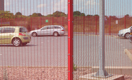 Paramesh 358 mesh security fencing