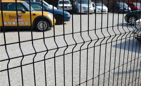 Paramesh 3M V beam mesh security fencing