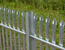 Palisade fencing w pale