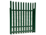 Palisade security fencing high security