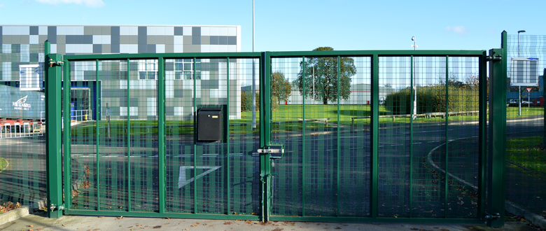 Swing security gates