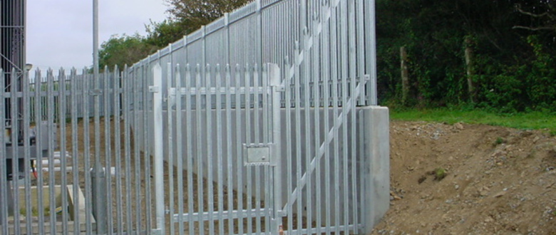 palisade security fencing and Palisade gate